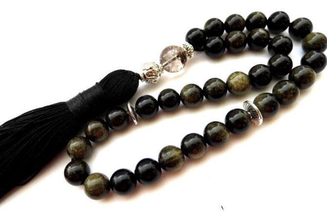 Obsidian-chetki